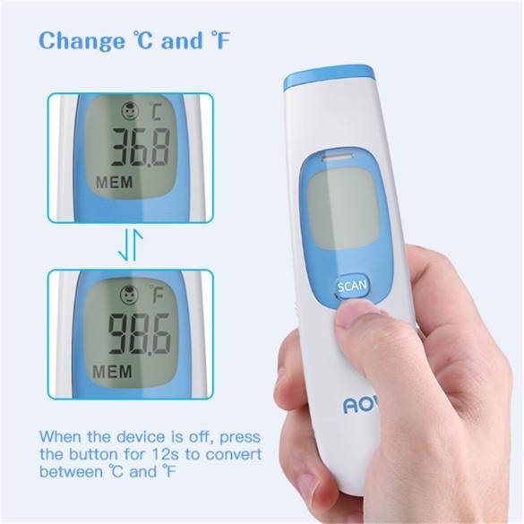 AOV NON CONTACT érintés nélküli hőmérő