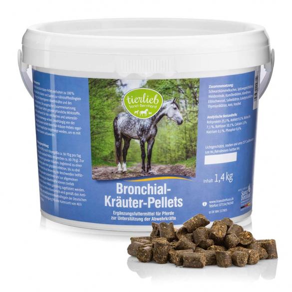 tierlieb Légzéskönnyítő gyógynövény pellet lovaknak 1,4 kg