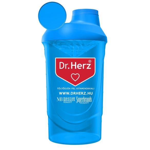 Dr. Herz Shaker kék 600ml