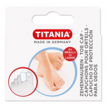 Titania Lábujjvédő gyűrű zárt 2 kicsi, 1 nagy 5214 BOX