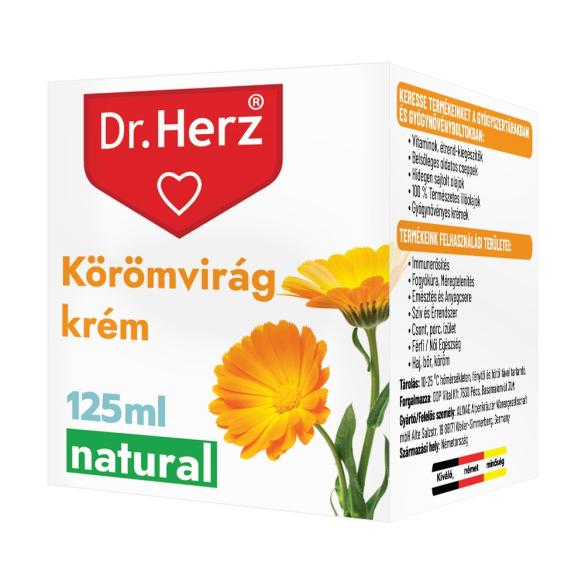 DR Herz Körömvirág krém 125 ml