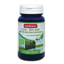 Medicura BIO CSG Mix (Chlorella + Spirulina + Zöldárpa)   120 db tabletta