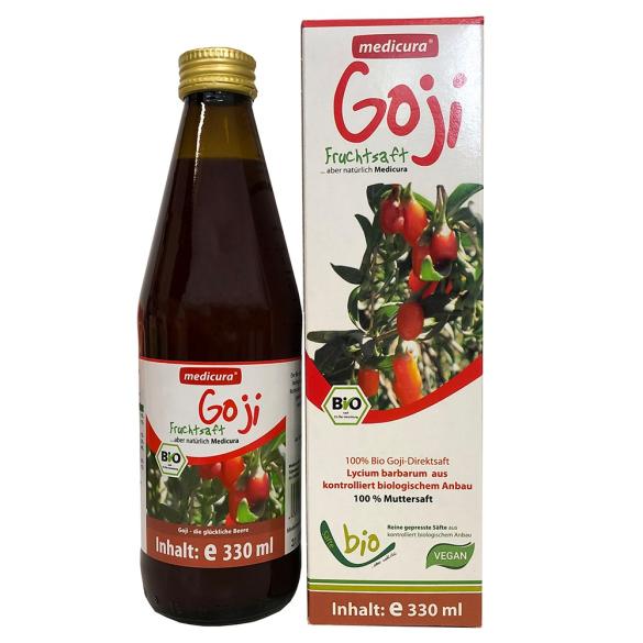 Medicura Goji 100% Bio gyümölcslé 330ml