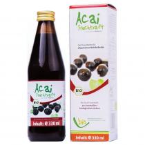 Medicura Acai 100% Bio gyümölcslé 330ml