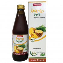 Medicura Ananász 100% Bio gyümölcslé 330ml