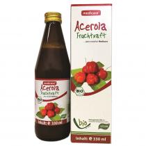 Medicura Acerola 100% Bio gyümölcslé 330ml