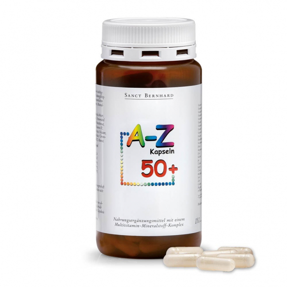 Sanct Bernhard A-Z 50+ Senior Multivitamin 150db