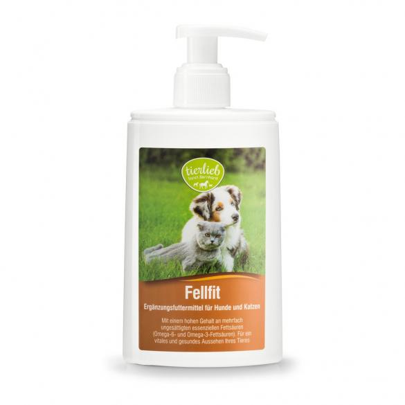 tierlieb Szőrápoló szirup kutyáknak és macskáknak 250 ml