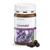 Nyugalom kapszula Golgota virág kivonattal+Levendula olaj+B-vitaminok S.Bernhard 120 db