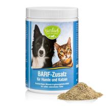 tierlieb BARF-étrend kompatibilis eledel kiegészítő por kutyáknak és macskáknak 800 g