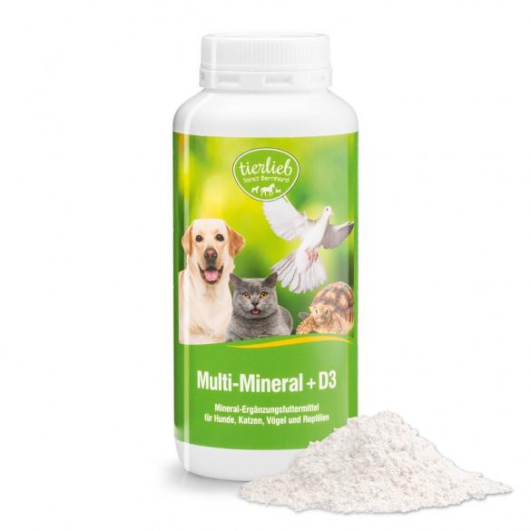 tierlieb Multi ásványi anyag + D3 vitamin 200g