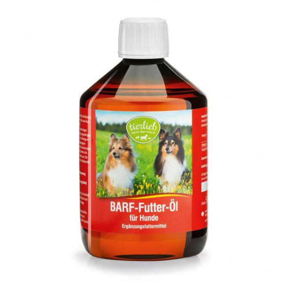 tierlieb BARF hidegen sajtolt olaj kutyáknak 500 ml