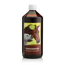 tierlieb 100%-os tisztaságú Feketeköménymag olaj lovaknak és kutyáknak  1000 ml