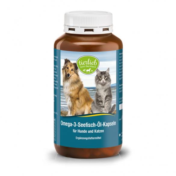 tierlieb Omega-3 halolaj kapszula lovaknak, kutyáknak, macskáknak 400 db