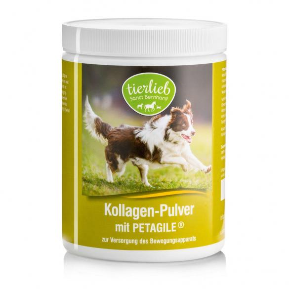 tierlieb Kollagén por PETAGILE®-el kutyáknak, macskáknak 300 g