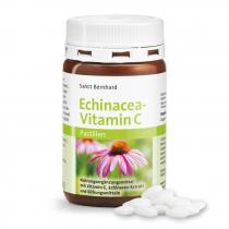 Echinacea + C-vitamin S.Bernhard 200 db pasztilla