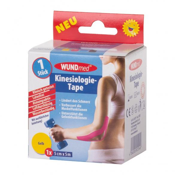 WundMed Kinesio tape(szalag)5cmx5m Sárga
