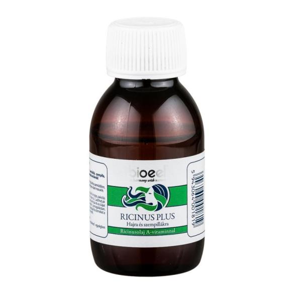 Bioeel Ricinus plus hajolaj A-vitaminnal 80gr