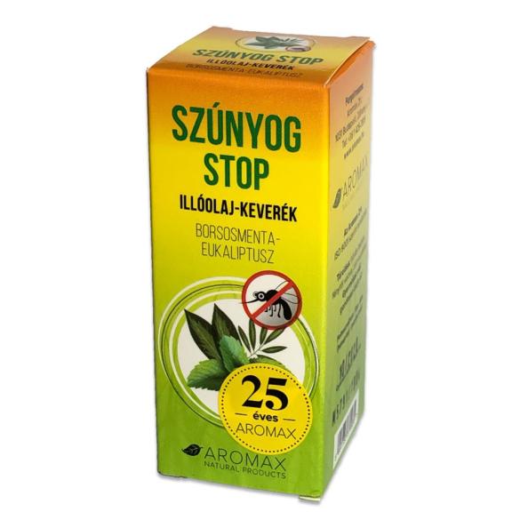 AROMAX Szúnyog STOP illóolaj keverék Borsmenta-Eukaliptusz 10ml