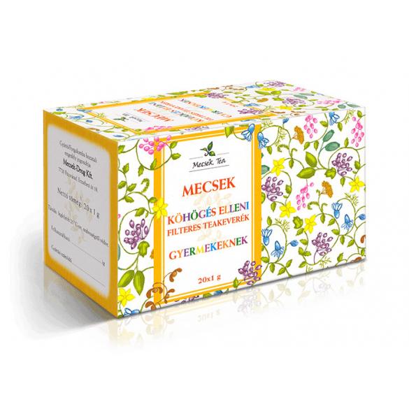 MECSEK Köhögés elleni tea gyermekeknek filteres