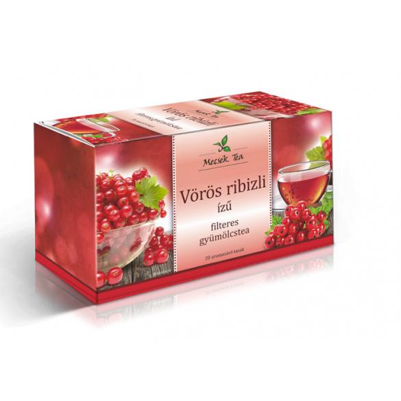 MECSEK Vörösribizli tea filteres