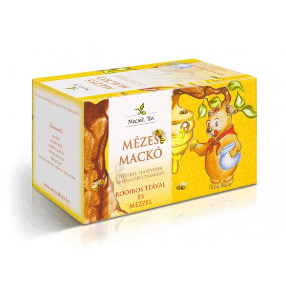 MECSEK Mézes mackó rooibos teával és mézzel filteres