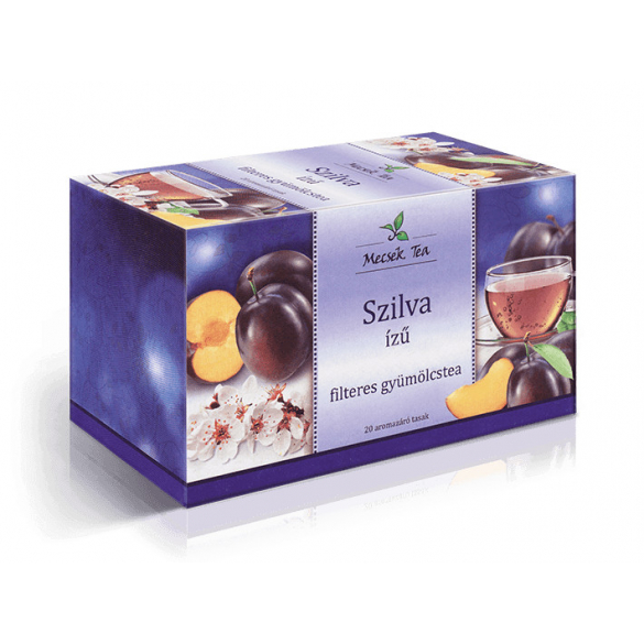 MECSEK Szilva ízű tea filteres