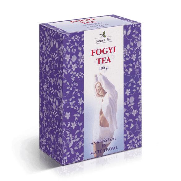 MECSEK Fogyi tea ananásszal és mate teával100 g