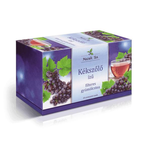 MECSEK Kékszőlő ízű tea filteres