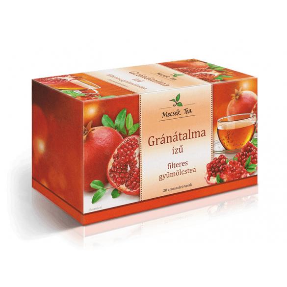 MECSEK Gránátalma ízű tea filteres