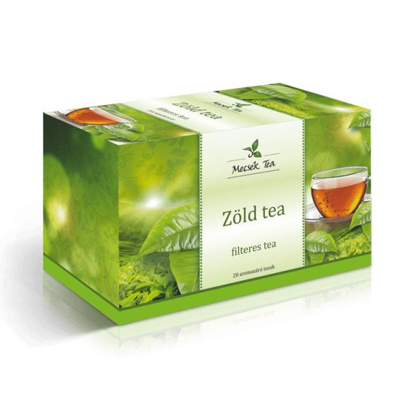 MECSEK Zöld tea filteres