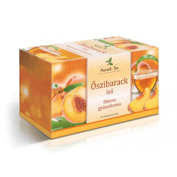 MECSEK Őszibarack ízű tea filteres