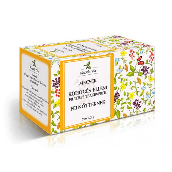 MECSEK Köhögés elleni tea felnőtteknek filteres