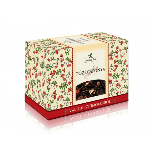 MECSEK Tőzegáfonya ízű tea 100g
