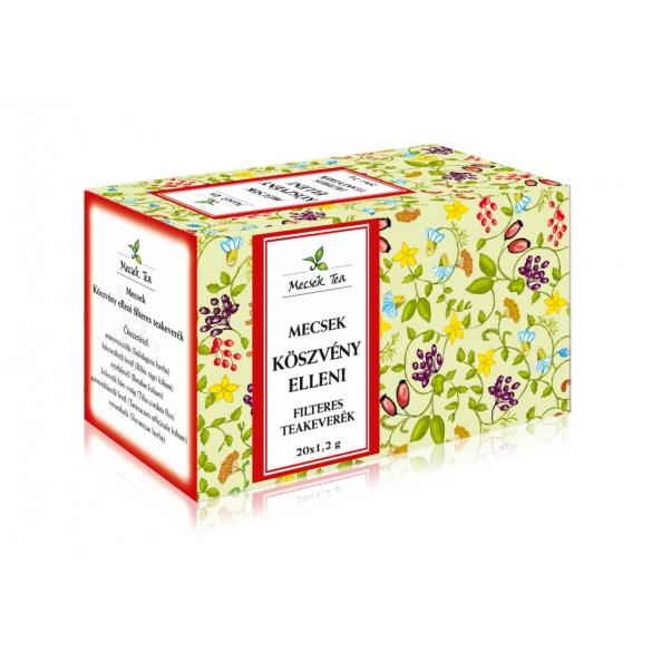 MECSEK Köszvény elleni teakeverék filteres