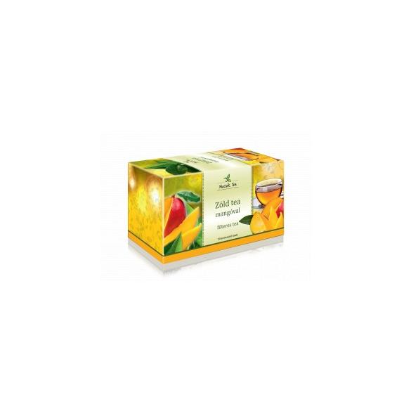 MECSEK Zöld tea mangóval filteres