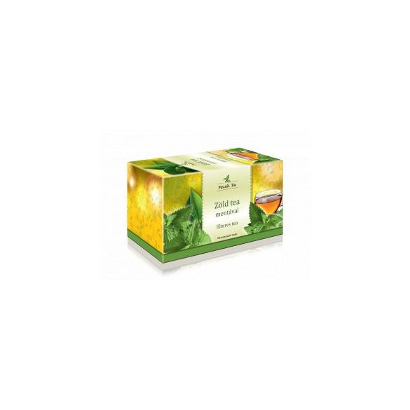 MECSEK Zöld tea mentával filteres