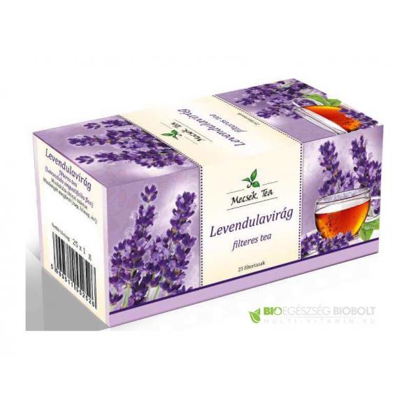MECSEK Levendulavirág tea 25 filteres/EP kártyára adható/