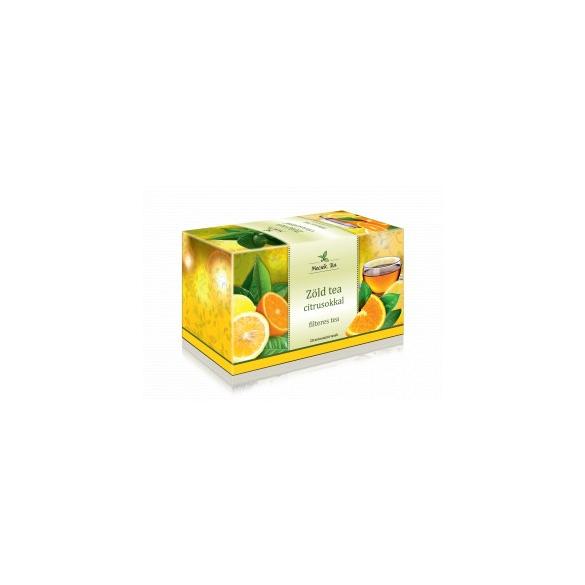 MECSEK Zöld tea citrusokkal filteres