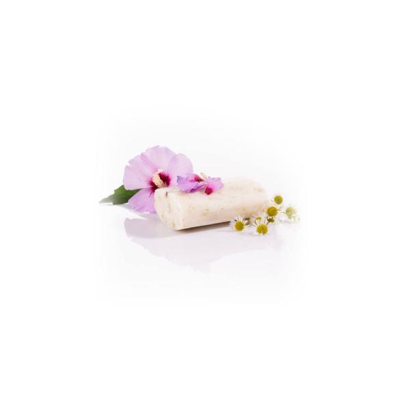 Yamuna hidegen sajtolt hibiszkusz-kamilla zacskós szappan 242T
