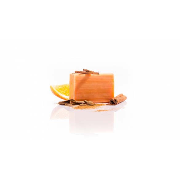 Yamuna hidegen sajtolt narancs-fahéj szappan 3/10