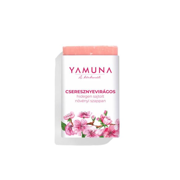 Yamuna hidegen sajtolt cseresznyevirág szappan 3/77