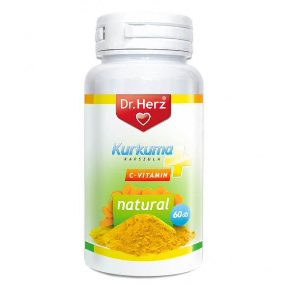 DR Herz Kurkuma+C-vitamin 60 db kapszula