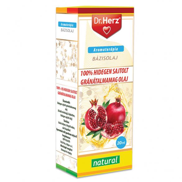 DR Herz Gránátalma magolaj 100% hidegen sajtolt 20ml