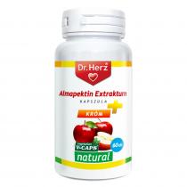 DR Herz Almapektin Extraktum 400mg 60 db vegetáriánus kapszula