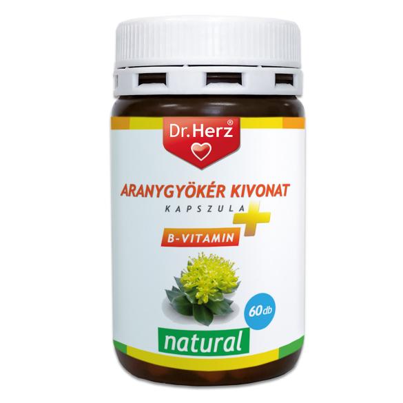 DR Herz Aranygyökér + B vitamin kapszula 60db