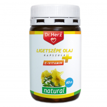 DR Herz Ligetszépe olaj + E vitamin kapszula 60db