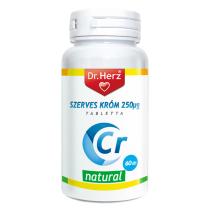 DR Herz Szerves Króm-pikolinát 250 µg 60 db tabletta