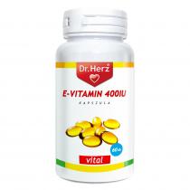 DR Herz E-vitamin 400IU 60 db lágyzselatin kapszula