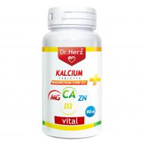DR Herz Kalcium+Magnézium+Cink+D3 90db tabletta